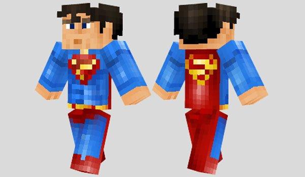 Superman Skin for Minecraft