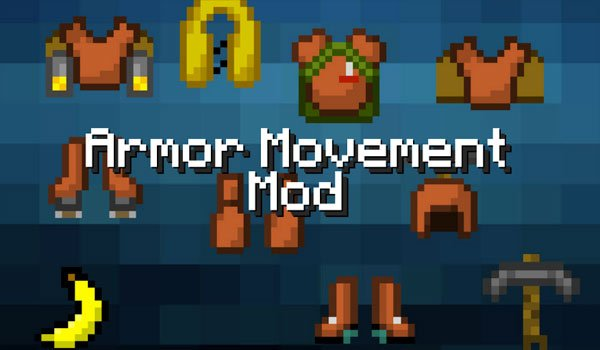 Armor Movement Mod for Minecraft 1.6.2 and 1.6.4