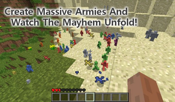 Clay Soldiers Mod for Minecraft 1.7.10