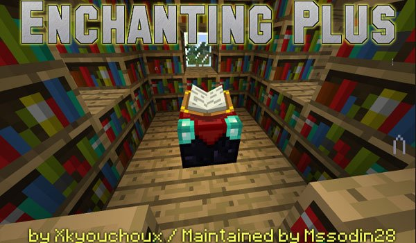 Enchanting Plus Mod for Minecraft 1.10.2