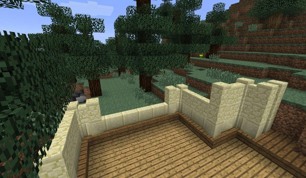 Fancy Fences Mod for Minecraft 1.5.2