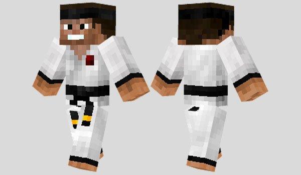 Martial Artist Skin for Minecraft