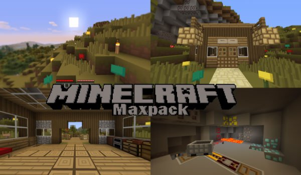 Maxpack Texture Pack for Minecraft 1.5.1