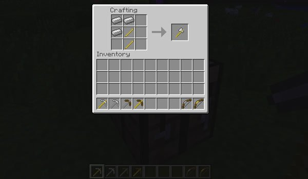 Metal Rods Mod for Minecraft 1.5.2