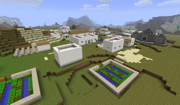 Millenaire Mod for Minecraft 1.7.2 and 1.7.10