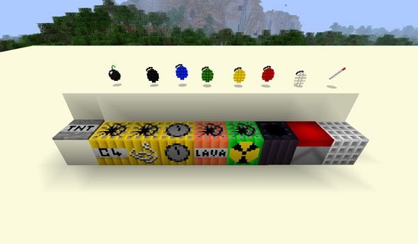 More Explosives Mod for Minecraft 1.6.2 and 1.5.2