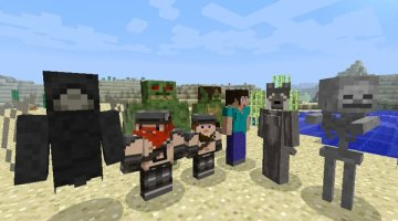 More Player Models 2 Mod for Minecraft 1.12.2 and 1.11.2