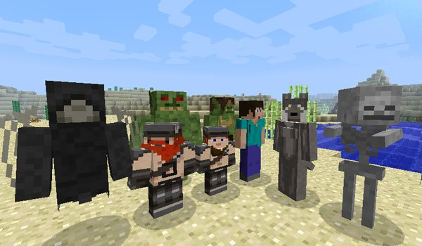 More Player Models 2 Mod for Minecraft 1.7.2 and 1.7.10
