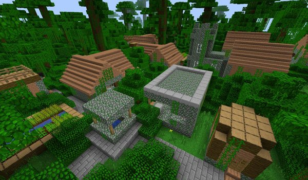 More Village Biomes Mod for Minecraft 1.6.2 and 1.5.1