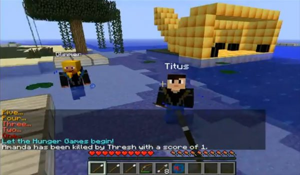 The Hunger Games Mod for Minecraft 1.6.2 and 1.5.2