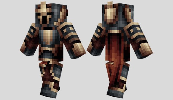 Black Guard Skin for Minecraft