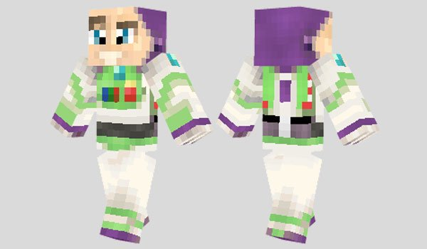 Buzz Lightyear Skin for Minecraft