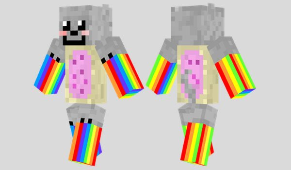 Nyan Cat Skin for Minecraft