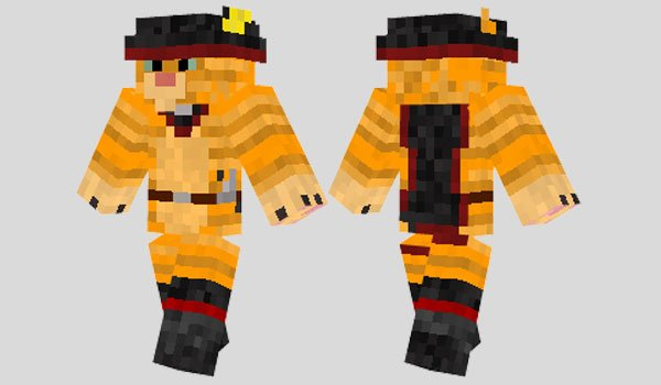 Puss in Boots Skin for Minecraft