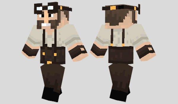 Steampunk Engineer Skin for Minecraft
