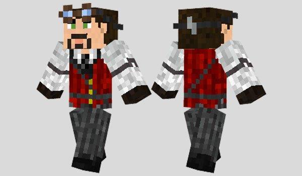 Steampunk Suit Skin for Minecraft