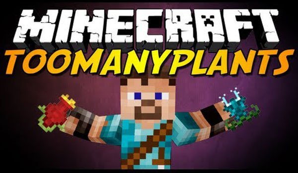 TooManyPlants Mod for Minecraft 1.4.7