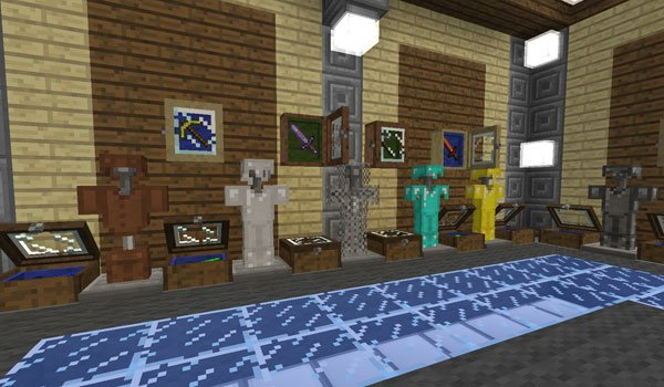 objects to the bibliocraft mod 1.7.10 and 1.7.2