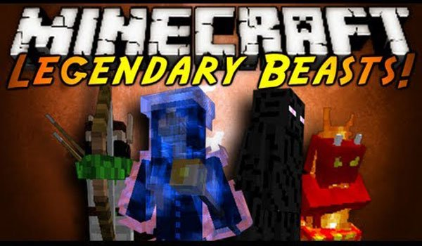 Legendary Beasts Mod for Minecraft 1.6.2 and 1.6.4