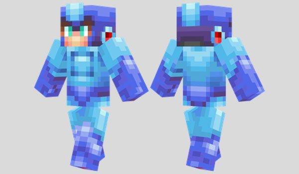 Megaman Skin for Minecraft