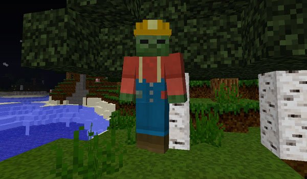 Mo' Zombies Mod for Minecraft 1.7.2 and 1.7.10