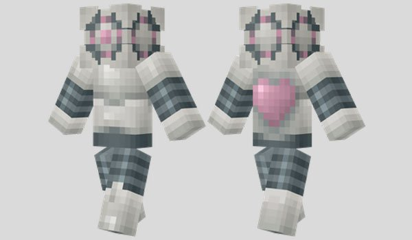 Portal Companion Droid Skin for Minecraft