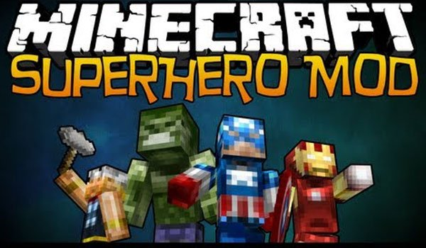 Super Heroes Mod for Minecraft 1.6.2 and 1.6.4