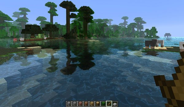 Water Shader Mod for Minecraft 1.6.2 and 1.5.2
