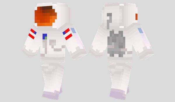 Astronaut Skin for Minecraft