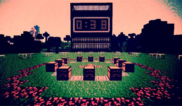 Hunger Games Map for Minecraft 1.5.1