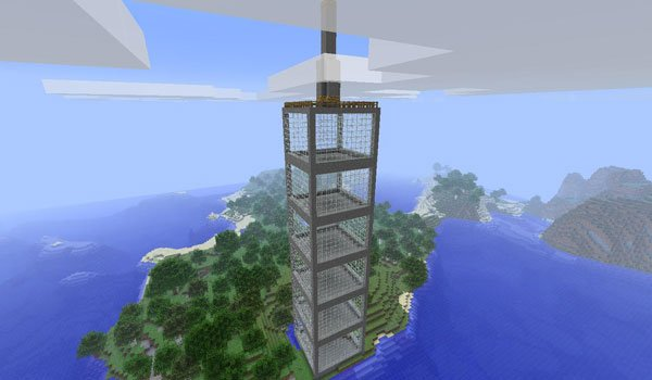 Instant Massive Structures Mod for Minecraft 1.7.2 and 1.7.10