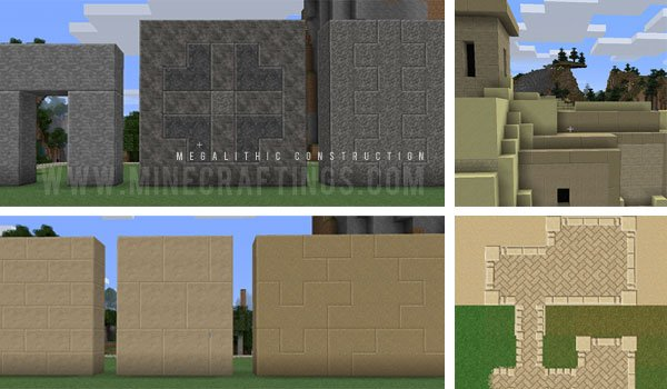 Megalithic Construction Mod for Minecraft 1.4.7