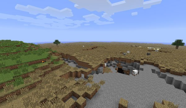 More Nature Mod for Minecraft 1.7.2 and 1.7.10