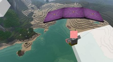 Parachute Mod for Minecraft 1.12.2 and 1.11.2