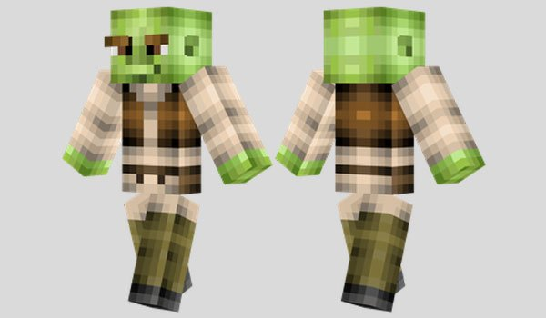 Shrek Skin for Minecraft