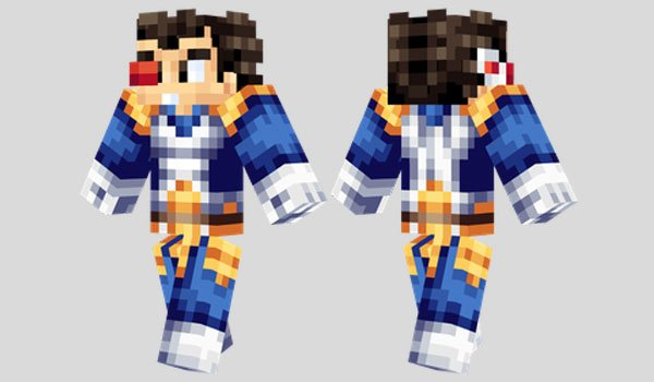 Vegeta Skin for Minecraft