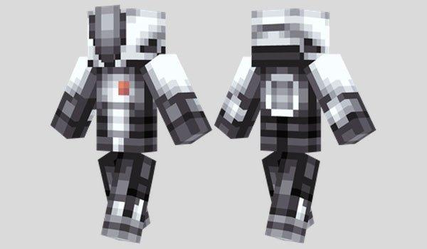 Zer0 Skin for Minecraft