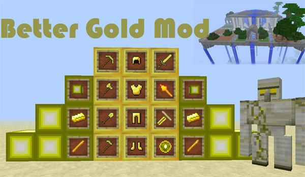 Better Gold Mod for Minecraft 1.5.1