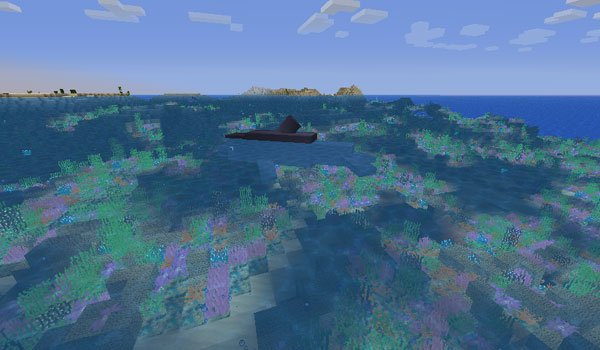 Coral Reef Mod for Minecraft 1.6.2 and 1.6.4