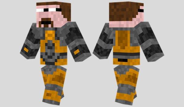 Gordon Freeman Skin for Minecraft