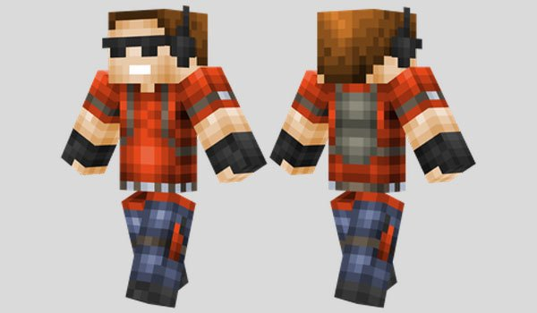 Griefer Skin for Minecraft