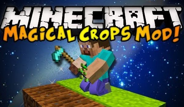Magical Crops Mod for Minecraft 1.7.2 and 1.7.10