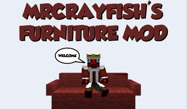 MrCrayfish's Furniture Mod for Minecraft 1.7.2 and 1.7.10