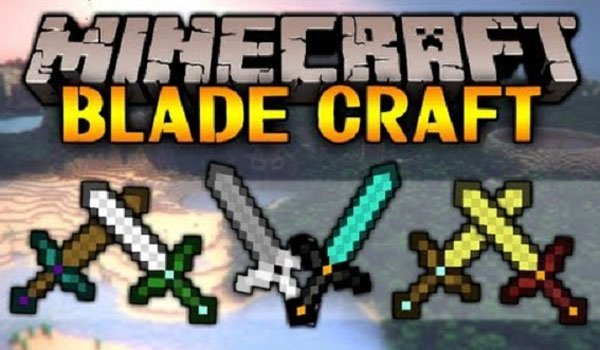 BladeCraft Mod for Minecraft 1.7.2 and 1.7.10