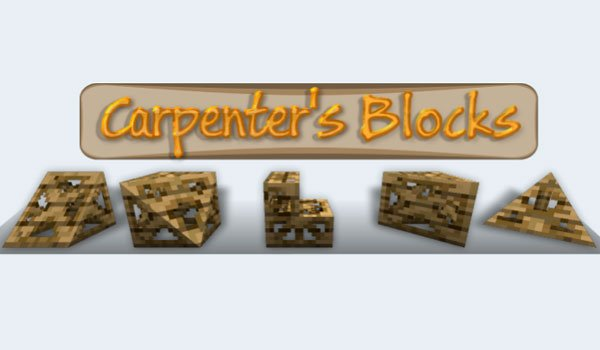 Carpenter's Blocks Mod for Minecraft 1.7.2 and 1.7.10