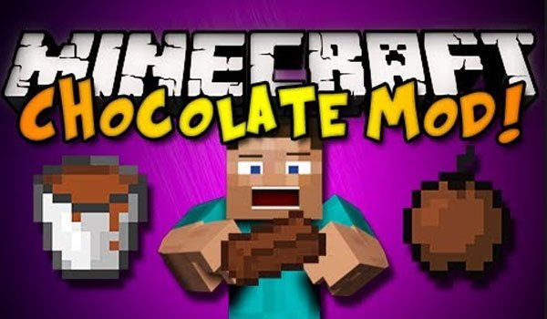 Chocolate Mod for Minecraft 1.6.2 and 1.5.2