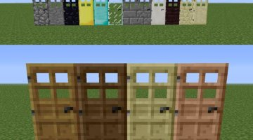 Extra Doors Mod for Minecraft 1.7.2 and 1.6.4