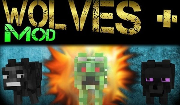 Wolves Plus Mod for Minecraft 1.5.2