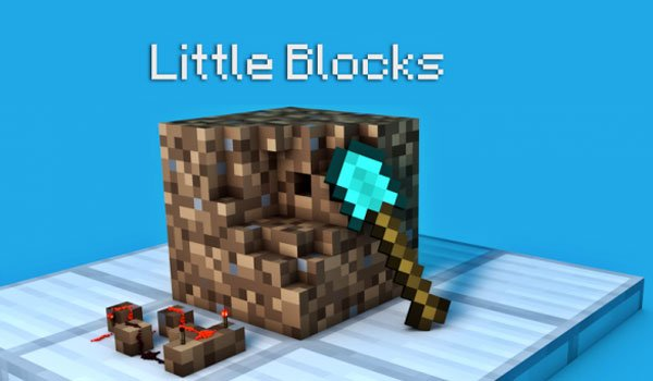 Little Blocks Mod for Minecraft 1.7.2 and 1.7.10