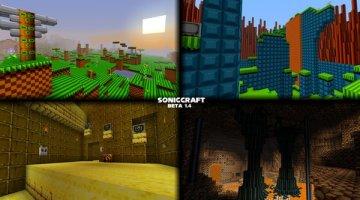 SonicCraft Map for Minecraft 1.7.2